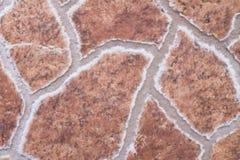Terracotta tiles Stock Photography