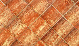 Terracotta tiles Royalty Free Stock Image