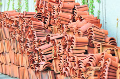 Terracotta tiles Royalty Free Stock Photos