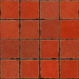 Terracotta tiles Stock Photography