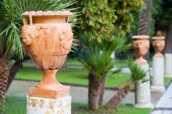 Terracotta vase Stock Images