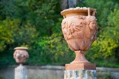Terracotta vase Royalty Free Stock Images