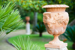 Terracotta vase Stock Images