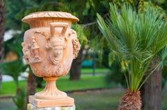 Terracotta vase Royalty Free Stock Photos