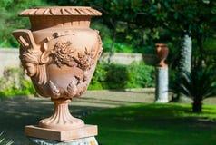 Terracotta vase Royalty Free Stock Image