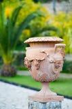 Terracotta vase Stock Photo