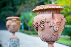 Terracotta vase Royalty Free Stock Images