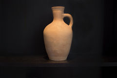 Terracotta vase earthenware Royalty Free Stock Photography