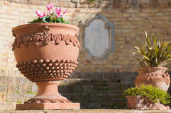 Terracotta vase Stock Photos