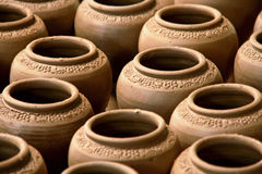 Terracotta vases Royalty Free Stock Photo