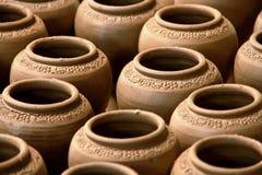 Terracotta Vases Royalty Free Stock Photo