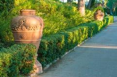 Terracotta vases Royalty Free Stock Image