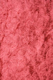 Terracotta velvet fabric as background Royalty Free Stock Image