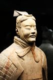 Terracotta warrior (Archer). Xian China: Terracotta Warrior Statue (Archer Royalty Free Stock Photography