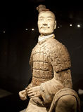 Terracotta Warrior Army of Emperor Qin Shi Huang Di. Situated just East of Xian, China stock photography