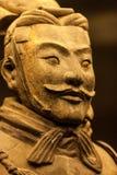 Terracotta warrior in close up Stock Photos