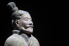 Terracotta warrior Royalty Free Stock Photos