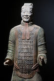 Terracotta warrior. Duplicate of terracotta soldier from Xian, China stock photography