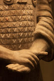 Terracotta warrior hands, China Stock Image