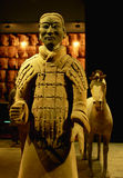 Terracotta warrior and horse Stock Images