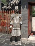 Terracotta warrior, Juyongguan, China Royalty Free Stock Image