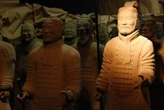 Terracotta Warrior Statue Royalty Free Stock Images