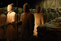 Terracotta Warrior Statue Royalty Free Stock Photo