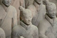 Terracotta Warrior in Xi'an, China. Statue of a Terracotta Warrior in the Terracotta Army in Xi'an, China Stock Photography
