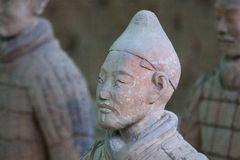 Terracotta Warrior in Xi'an, China Royalty Free Stock Image