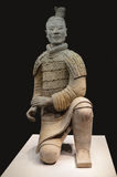The Archer - Terracotta Warrior from Xian Stock Image