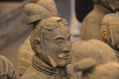 Terracotta Warrior from Xian Royalty Free Stock Photos