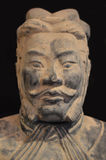 Terracotta Warrior from Xian Stock Image