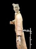 Terracotta Warrior from Xian Stock Photo