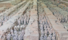 Terracotta Warriors 2 Royalty Free Stock Image