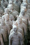Terracotta Warriors. Terra-Cotta warriors of Qinshihuang Royalty Free Stock Image