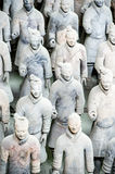 Chinese Terracotta Army Royalty Free Stock Photo