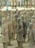 The Terracotta Warriors Stock Image