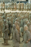 The Terracotta Warriors Royalty Free Stock Photos