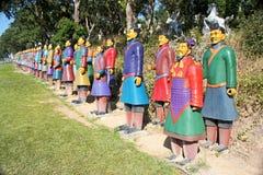 Terracotta warriors from China Stock Photo