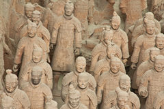 Terracotta warriors, China Stock Photography