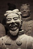 Terracotta warriors in China Royalty Free Stock Photography