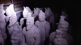 Terracotta Warriors Royalty Free Stock Photos