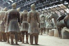 Terracotta warriors Stock Photography
