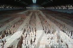 The Terracotta Warriors and Horses Stock Photos
