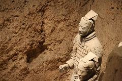 Terracotta Warriors and Horses Royalty Free Stock Image