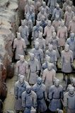 Terracotta Warriors and horses Stock Photography