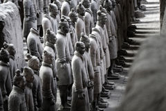 Terracotta Warriors museum Stock Images