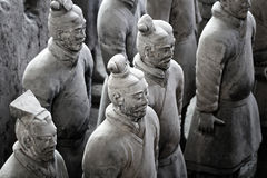 Terracotta Warriors museum Stock Photos