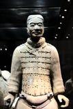 The Terracotta warriors museum in Xian city Stock Image
