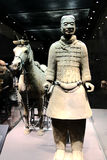 The Terracotta warriors museum in Xian city Stock Images